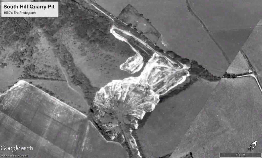 South Hill Quarry Pit 1960